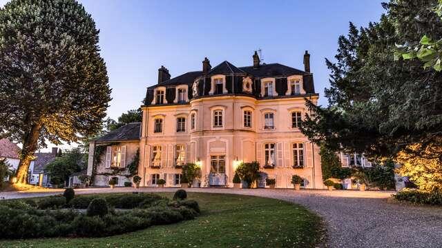 Romantisme et gourmandises avec dîner semi-gastronomique au Château