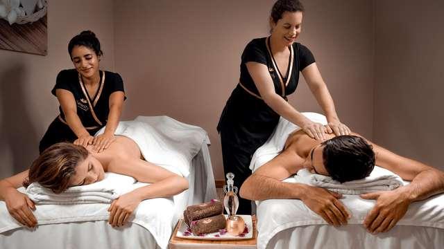 1 masaje en pareja