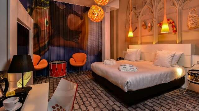 Puur genieten in Bergen met een privé spa voor 2
