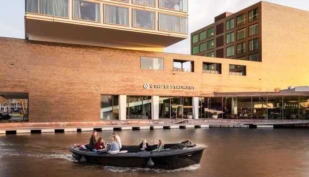Profitez d'une escapade dans cet hotel design à Amsterdam