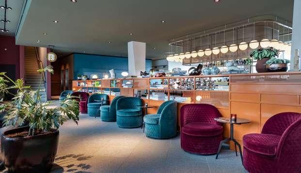 Luxe en moderniteit in een rustig gedeelte van het centrum van Amsterdam