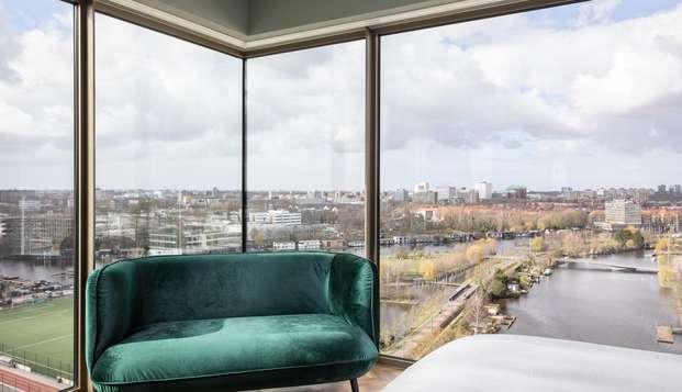 Escapade de luxe dans la belle ville d'Amsterdam