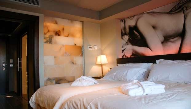Todo el descanso y el confort en un bonito hotel en Mora de Rubielos