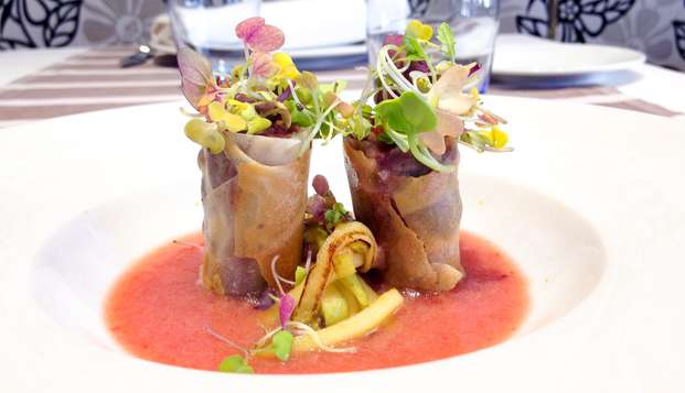 Gastronomía y naturaleza en un hotel con encanto en Mora de Rubielos
