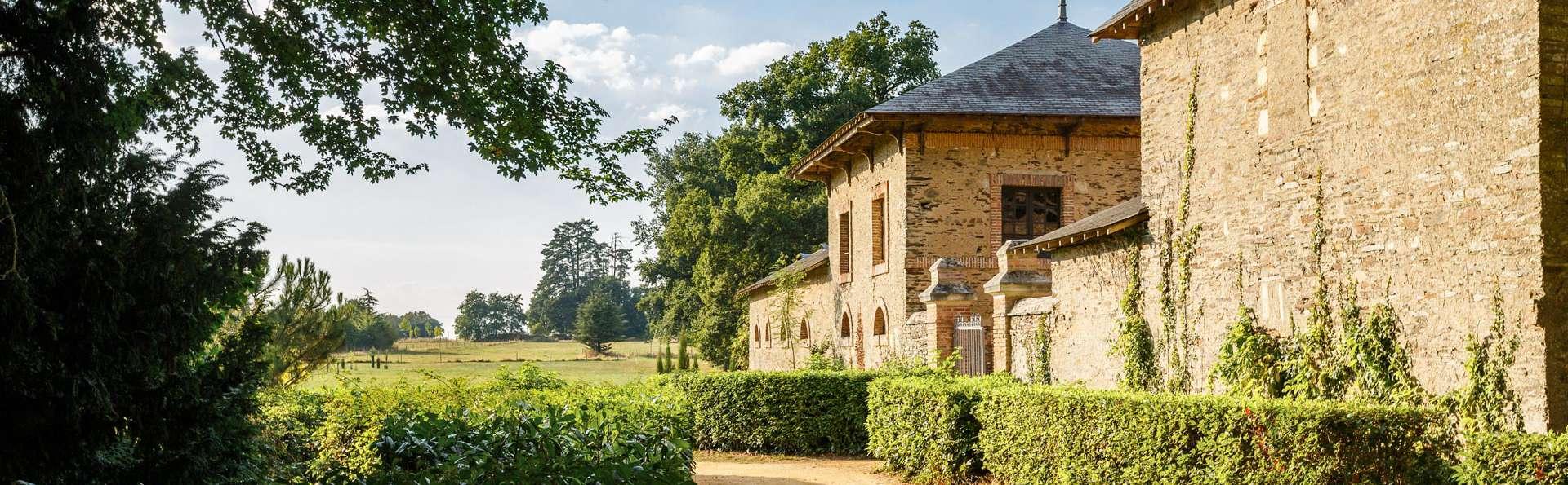 Escapada a un castillo cerca de Angers