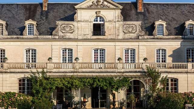 Escapada a un castillo a 30 minutos de Angers