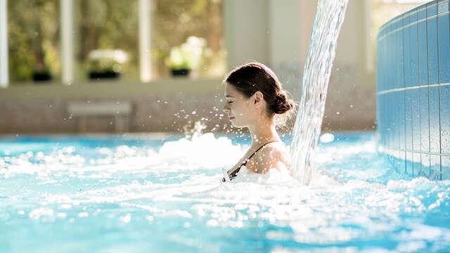 Encanto y Relax con acceso a Spa y bañeras mineromedicinales en la naturaleza vasca