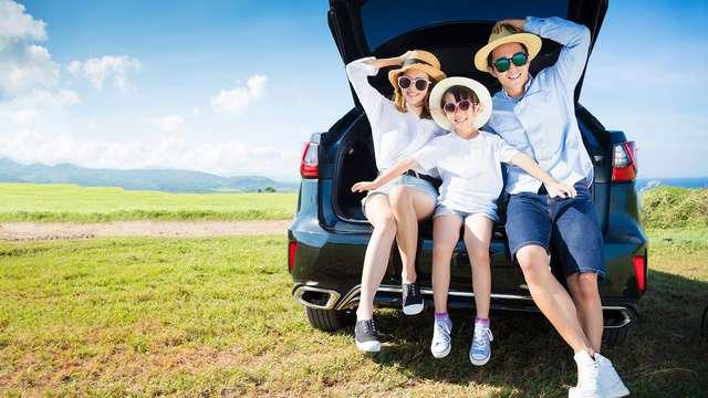 Vacaciones rurales en familia con descuento para un parque temático