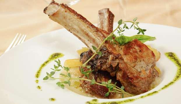 Saborea un vino y una cena gourmet a los pies del imponente Mulhacén
