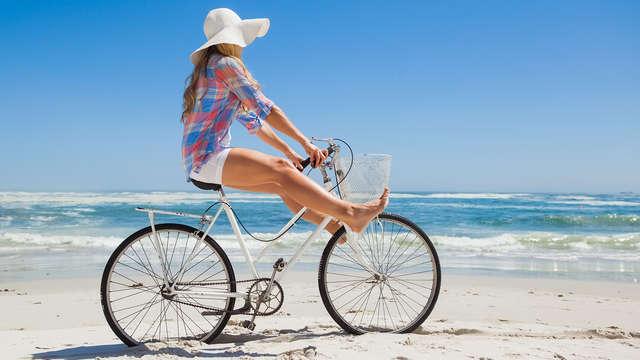 Vertrek samen op een heerlijke vakantie met fietsen inbegrepen (vanaf 2 nachten)