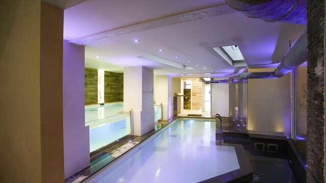 Weekend benessere a Montecatini in Junior Suite con vasca idromassaggio privata e accesso spa
