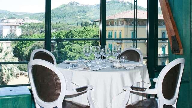 Benessere e gastronomia nella campagna di Montecatini Terme