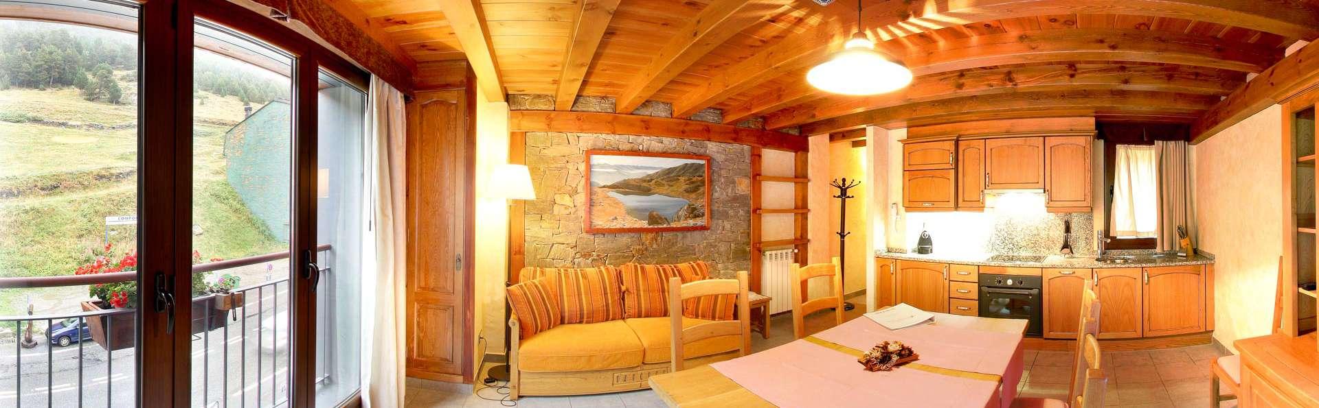 En famille ou avec des amis, l'Andorre vous attend! Appartement entièrement équipé pour 4personnes
