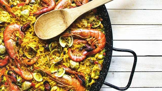 Alójate en pleno centro de Barcelona con cena a escoger en más de 200 locales