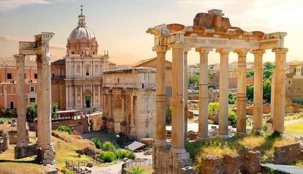 Séjournez au coeur de Rome et partez à la découverte de la Ville éternelle