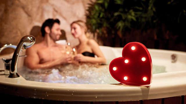 Escapada Romántica en la Suite de un pazo gallego con bañera hidromasaje y salida tardía
