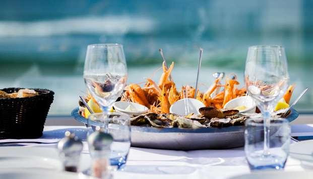 Relax y degustación de marisco en Biscarrosse