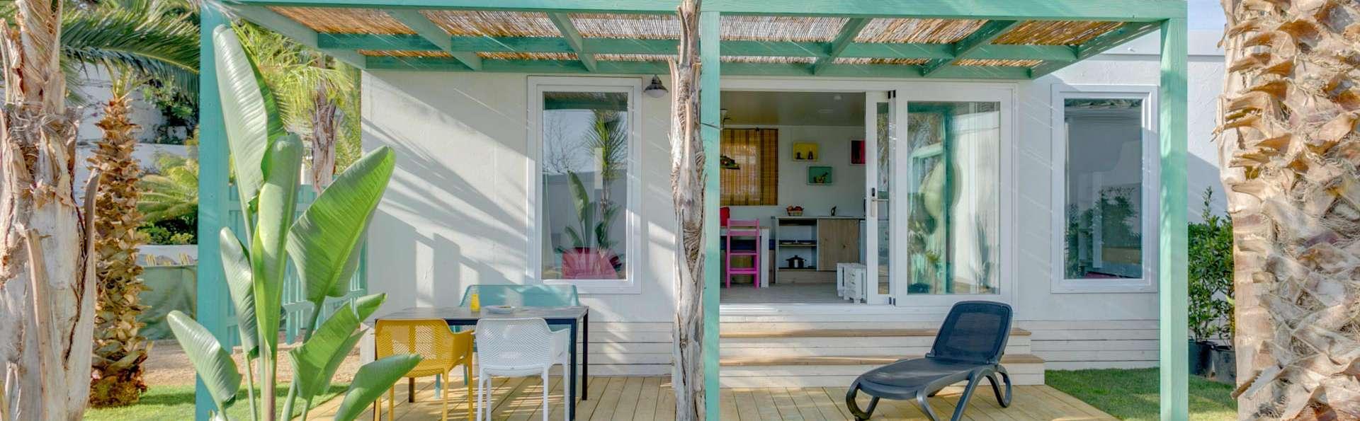 Bungalow Ibiza pour 5personnes en resort avec accès direct à la plage de Mont Roig