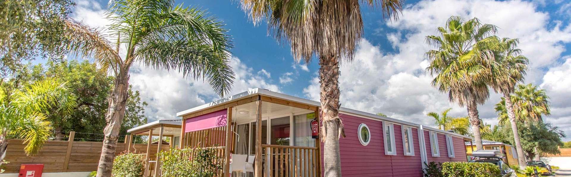 Déconnexion en resort avec accès direct à la plage en Bungalow Sunset pour 5personnes