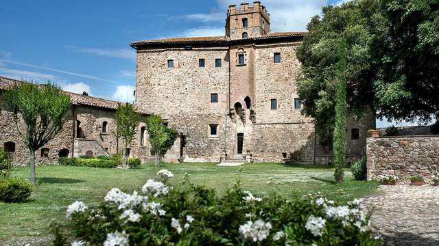 Disfruta en familia de un fantástico castillo rodeado de naturaleza