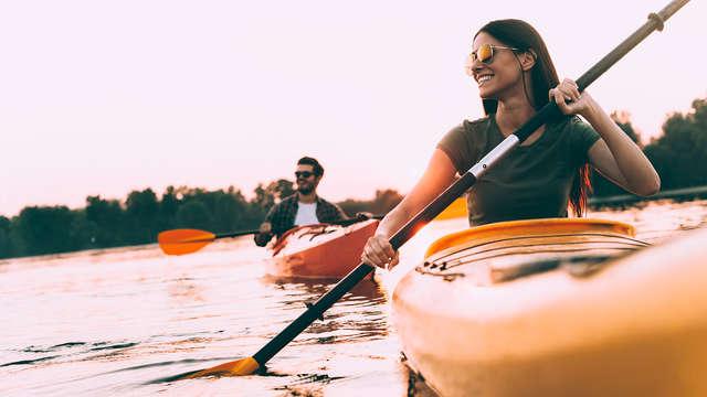 Alquiler de canoa/kayak para 2 adultos