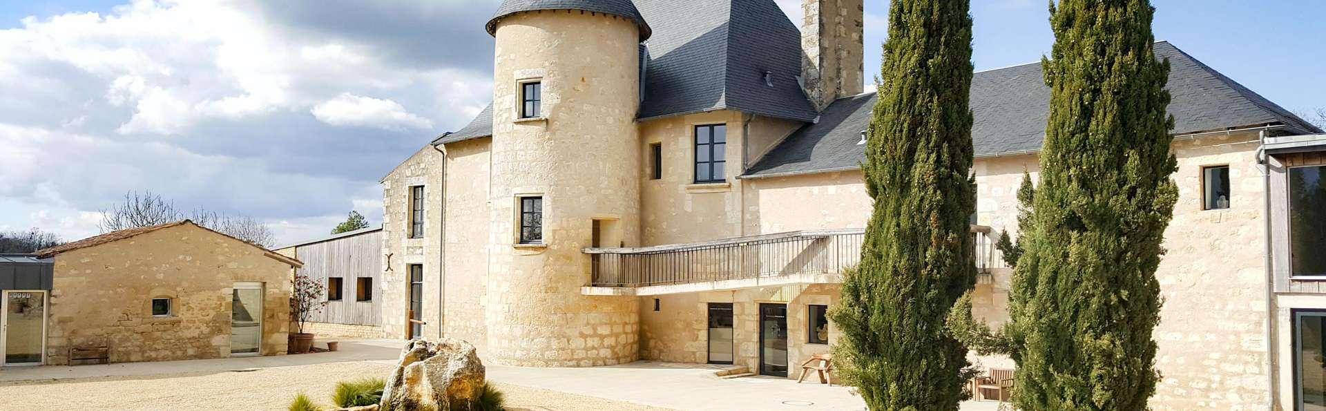 Escapade gourmande avec accès au spa, près du charmant village médiéval de Chauvigny