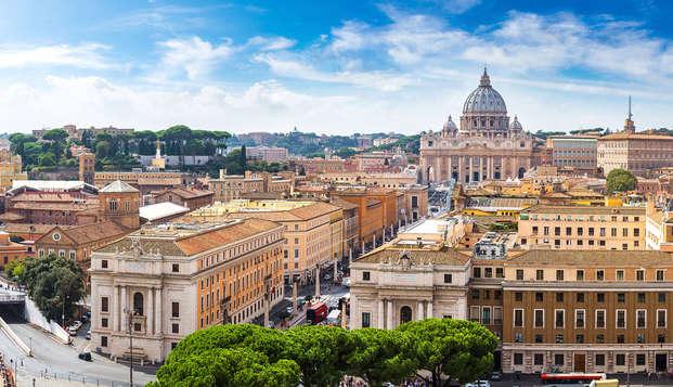 Vacances à Rome : en famille ou entre amis dans une chambre triple pour découvrir la ville éternelle