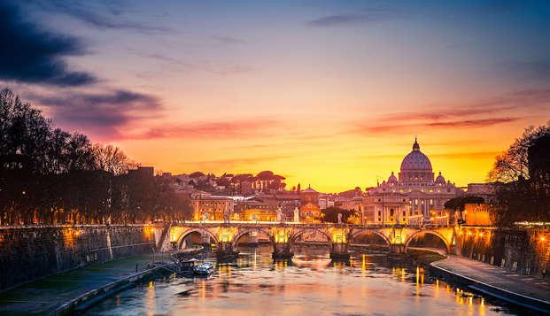 Séjour au coeur de Rome dans un hôtel moderne à Rione Monti