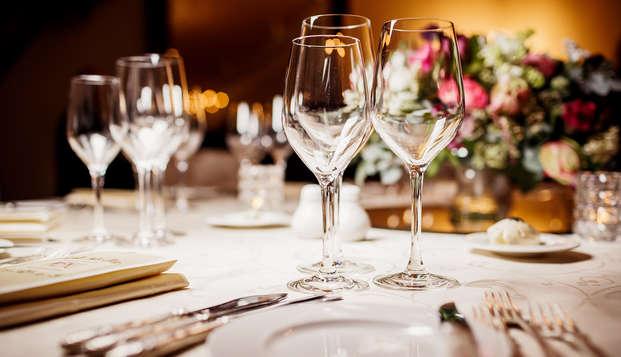 Bien-être et dîner à 4 plats à Fauquemont (à partir de 2 nuits)