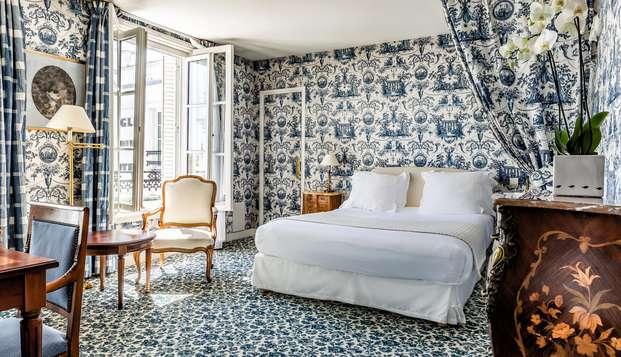 Estancia de lujo en Fontainebleau en un hotel con mucho encanto