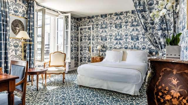 Séjour luxueux au cœur de Fontainebleau dans un hôtel de charme