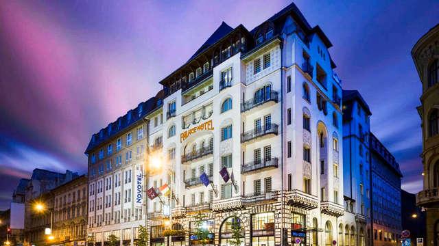 Wandel door de historische straatjes van Budapest