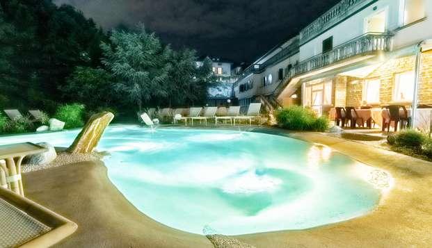 Notti di relax e terme in una stupenda villa ottocentesca nel cuore della Lombardia