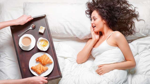 Weekend romantico con colazione in camera ad Avellino