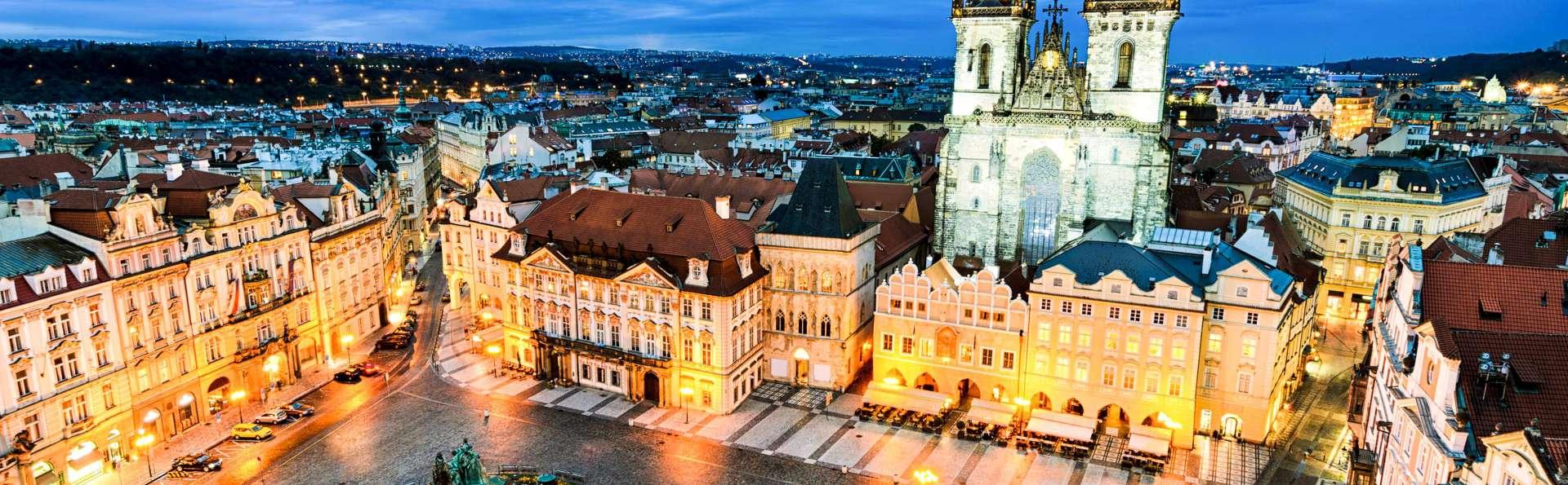 Recorre las calles de Praga