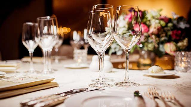 Ontspan aan zee en geniet van een heerlijk 5-gangen diner inclusief wijnen