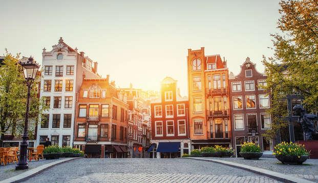 Profitez d'une escapade découverte à Amsterdam