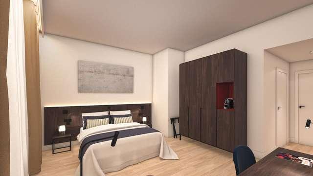 Verblijf in een prachtige suite in nieuw hotel en geniet van de wellness in Turnhout