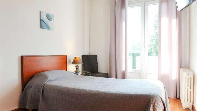 1 noche en habitación doble confort vista a los jardines para 2 adultos