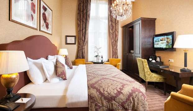 Overnacht in dit historische hotel in hartje Brugge