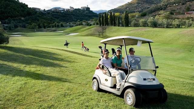 Week-end dans un resort sur les hauteurs de la Ligurie