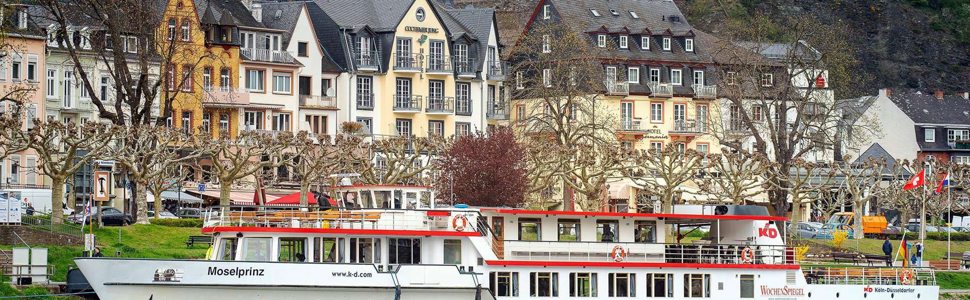 Week-end sur la Moselle avec promenade en bateau sur le fleuve