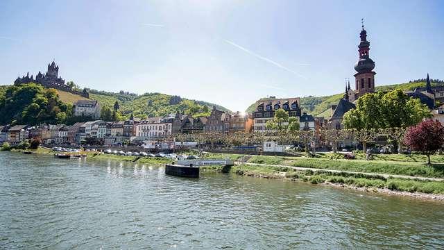 Week-end en Moselle avec promenade en bateau sur le fleuve