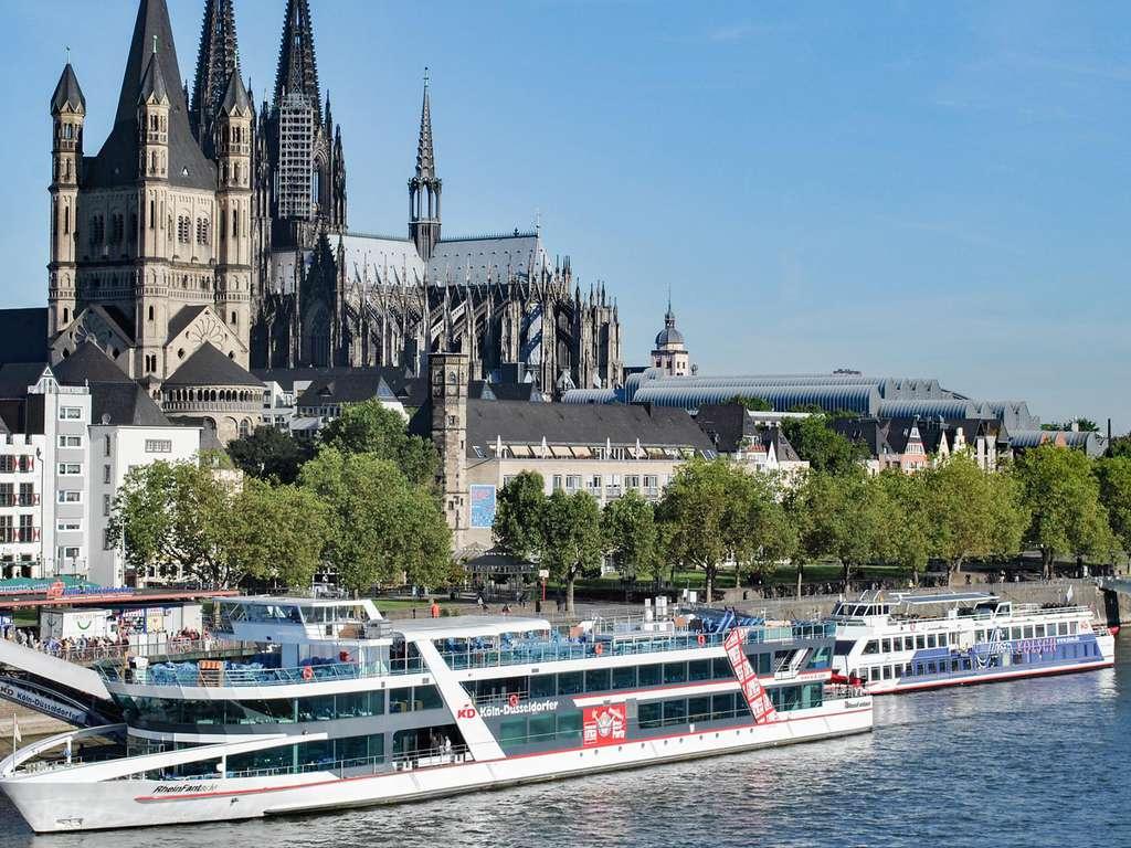 Séjour Allemagne - Découvrez la belle ville de Cologne lors d'une promenade en bateau sur le Rhin  - 4*