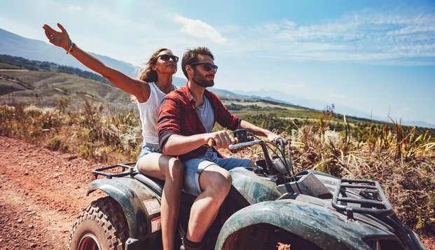 Parejas Aventureras: Ruta en Quad y copa de vino en La Sierra de Gúdar (desde 2 noches)