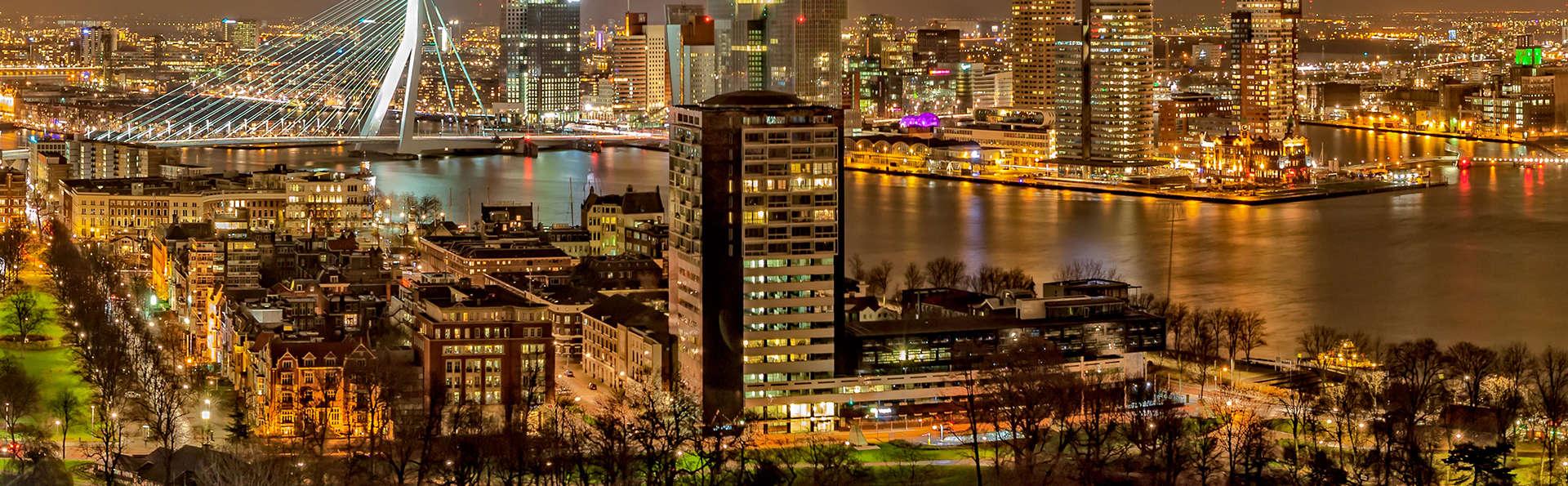 Confort, luxe et hôtel branché à proximité de la ville architectural de Rotterdam