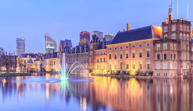 Als je niet kunt kiezen tussen Delft en Den Haag, kies dan voor comfort!