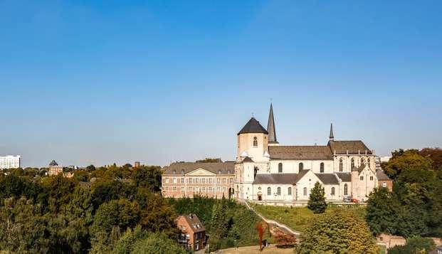 ¡Descansa cómodamente en Alemania entre la ciudad y los mágicos parques naturales!