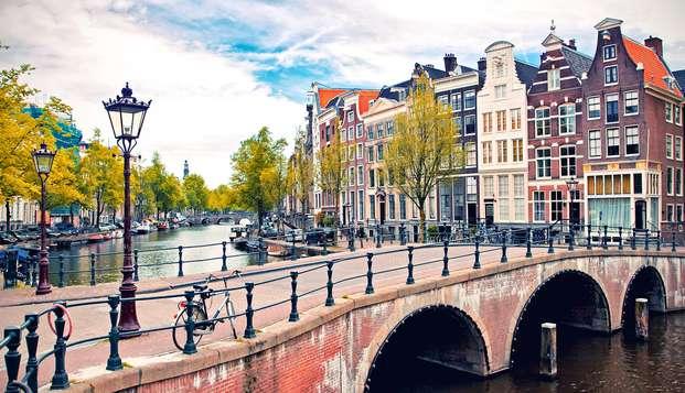 Citytrip à Amsterdam avec diner et parking gratuit (à partir de 2 nuits)
