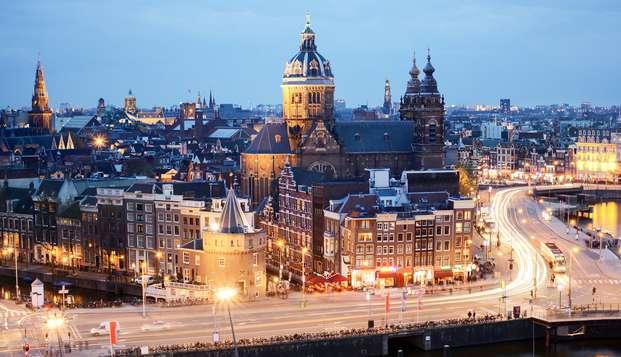 Séjournez 3 nuits dans la vibrante Amsterdam ! (promotion 3 pour 2)